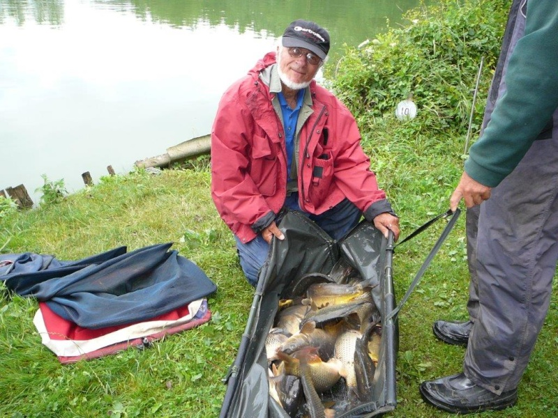 Festival de pêche sur le plan d'eau de Chuzelles (38) les 12 et 13 JUILLET P1140127