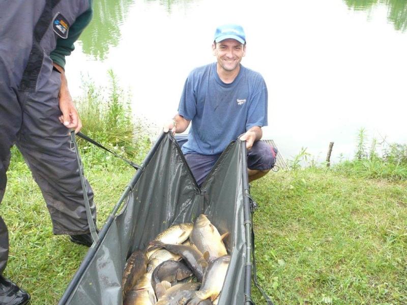 Festival de pêche sur le plan d'eau de Chuzelles (38) les 12 et 13 JUILLET P1140131
