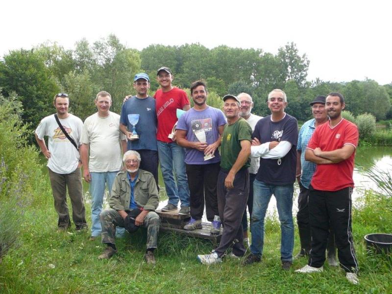Festival de pêche sur le plan d'eau de Chuzelles (38) les 12 et 13 JUILLET P1140132