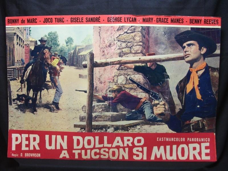 On Meurt à Tucson - Per un dollaro a Tucson si muore - 1964 - Cesare Canevari  _5710