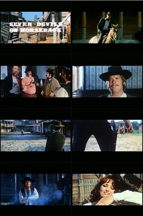 I sette del gruppo selvaggio (Inédit en France) - 1972 ou 1975 - Gianni Crea - Captur21