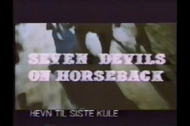 I sette del gruppo selvaggio (Inédit en France) - 1972 ou 1975 - Gianni Crea - Vlcsna42