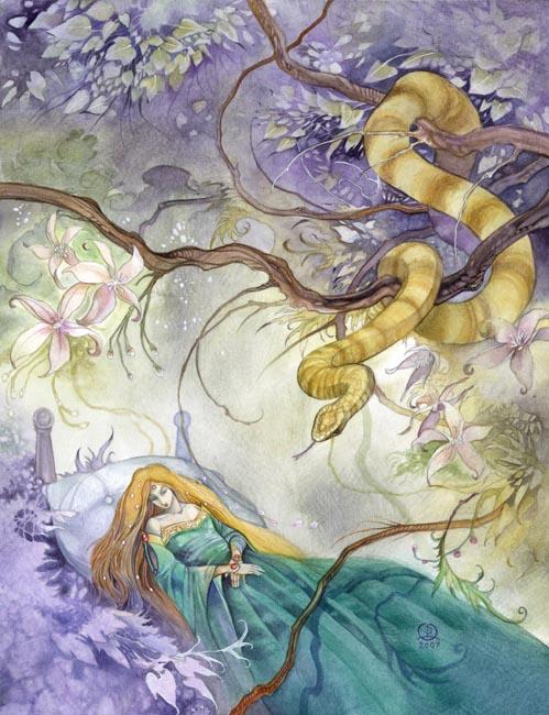 Le Noble Serpent nous salue ! ~ Ethelinda (nouvellement TANIS) The_sn10