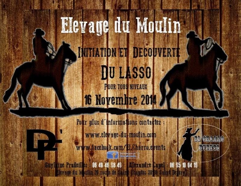 Découverte du Maniement du LASSO à St Dézéry 30190 avec un pro El_cha10