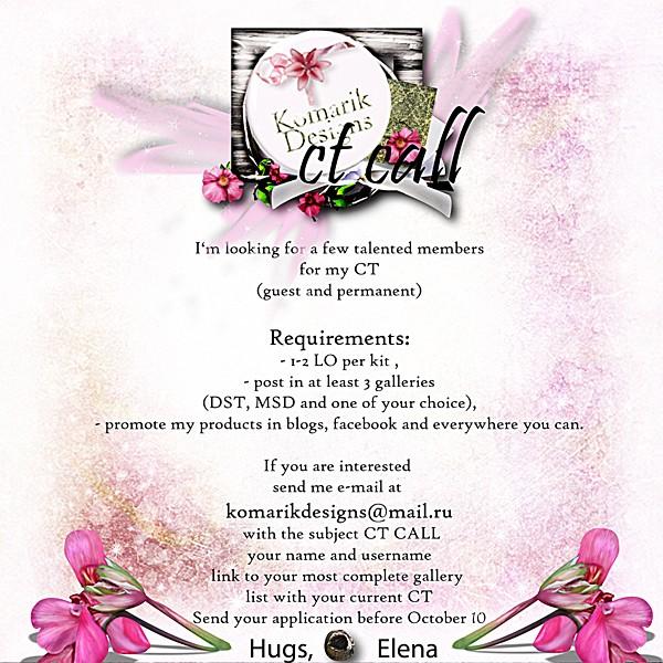 Komarik Designs CT Call Ct_cal10