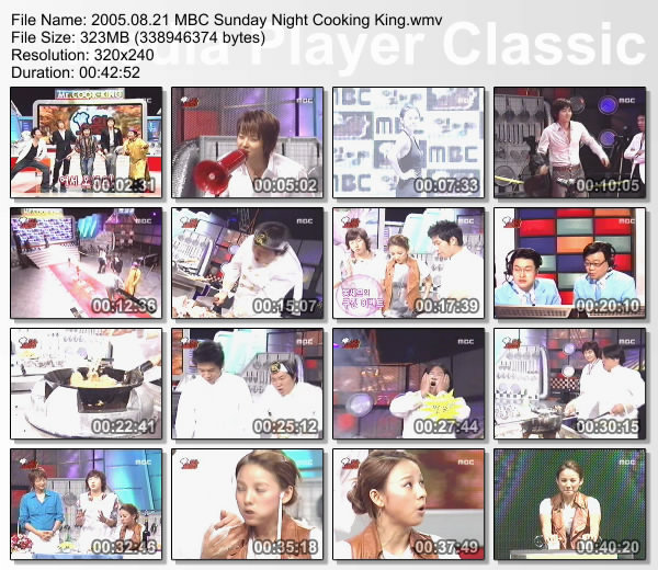 [050821] Hyori - MBC Sunday Night Cooking King [323M/wmv] F23_2012