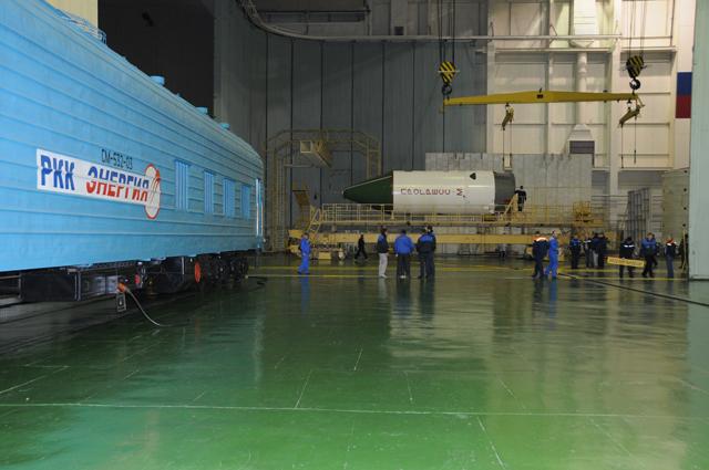Lancement et amarrage du Progress M-09M le 28 janvier 2011 Progre10