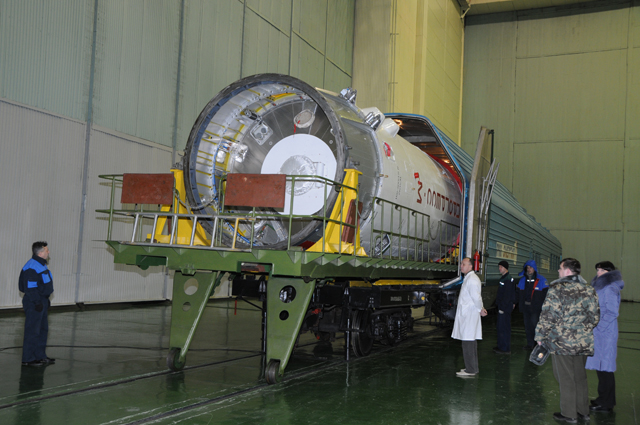 Lancement et amarrage du Progress M-09M le 28 janvier 2011 Progre12