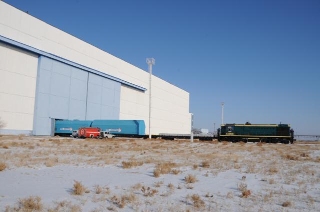 Lancement et amarrage du Progress M-09M le 28 janvier 2011 Progre13