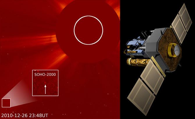 SOHO, satellite d'observation du Soleil Soho1210