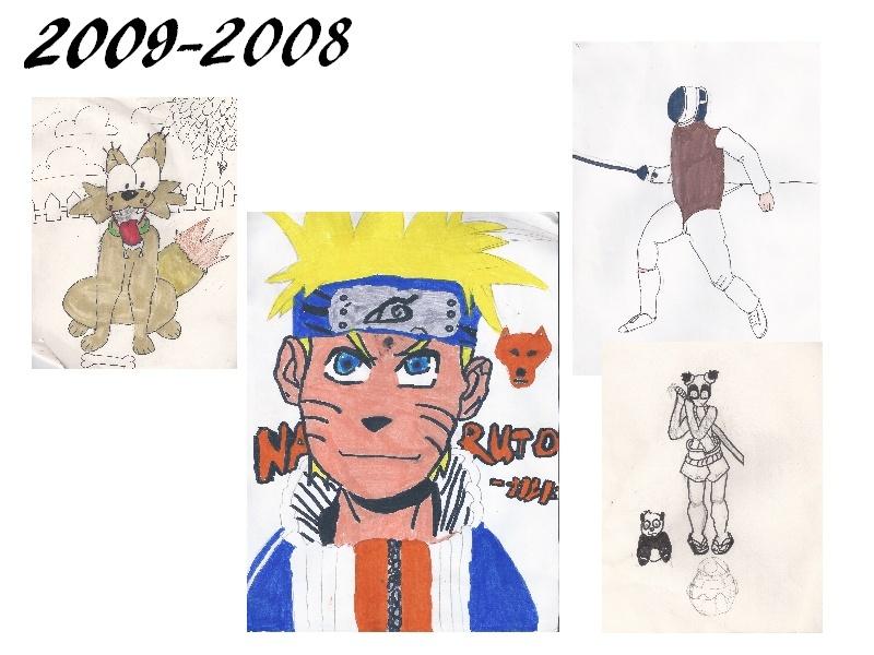 [inspi] Timeline - vos vieux dessins 2009-210