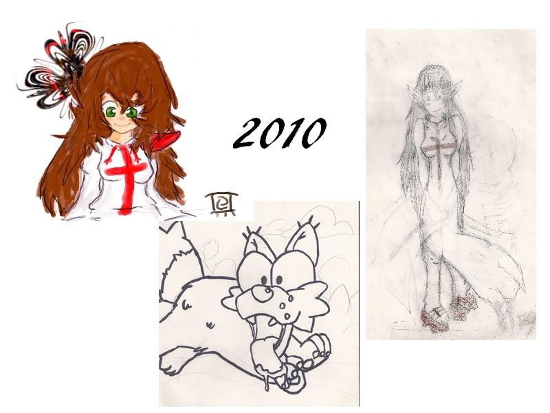 [inspi] Timeline - vos vieux dessins 201010
