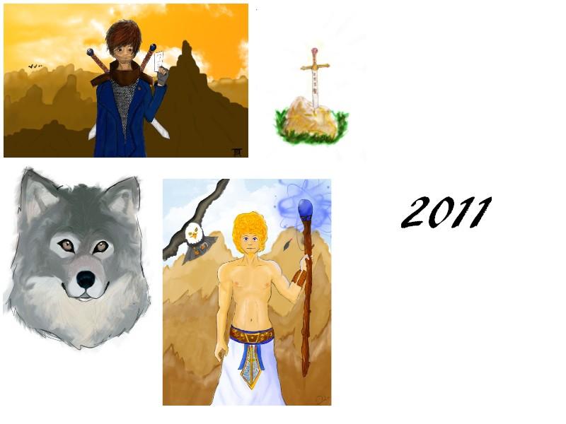 [inspi] Timeline - vos vieux dessins 201110
