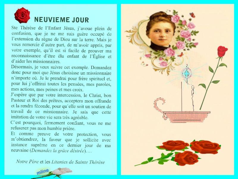 Neuvaine à Sainte Thérèse de Lisieux (22 Septembre / 1er octobre) Pizap_11