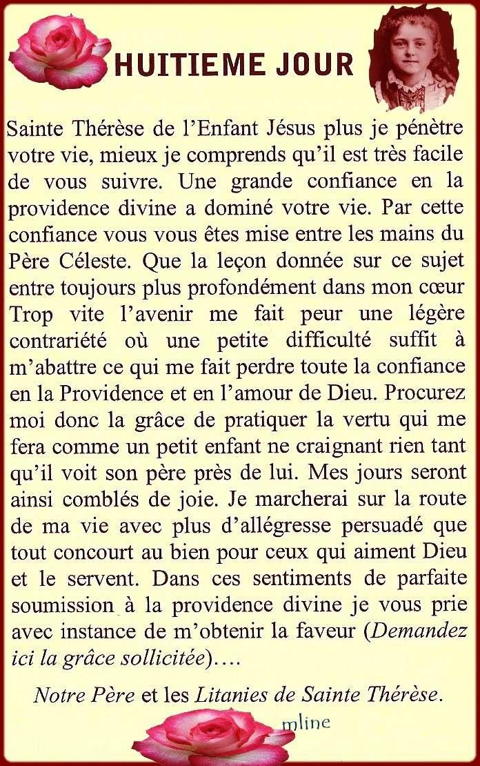 Neuvaine à Sainte Thérèse de Lisieux (22 Septembre / 1er octobre) The810