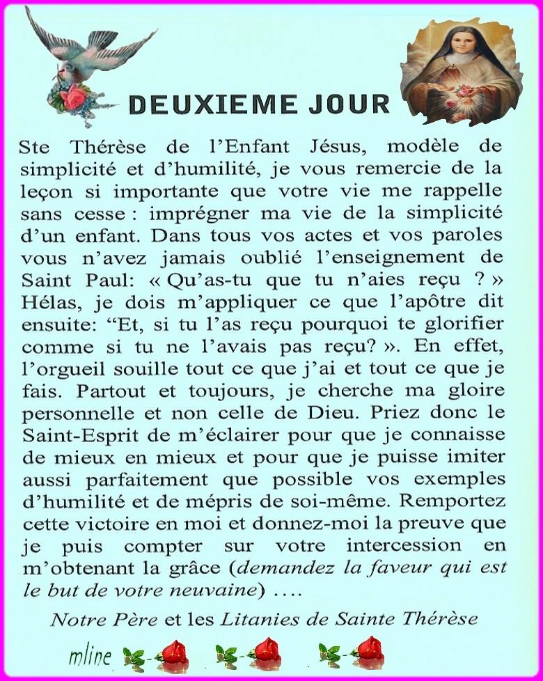 Neuvaine à Sainte Thérèse de Lisieux (22 Septembre / 1er octobre) Theres10
