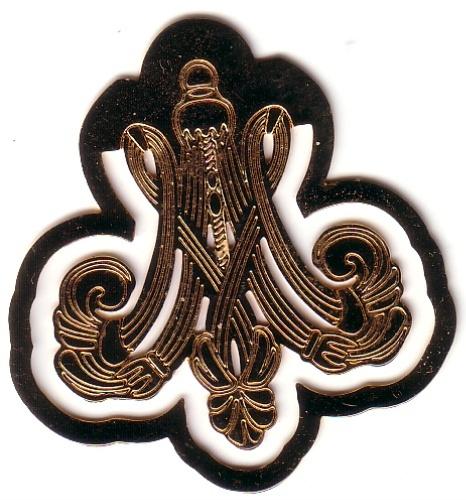 Le monogramme ou chiffre de Marie-Antoinette Armoir11