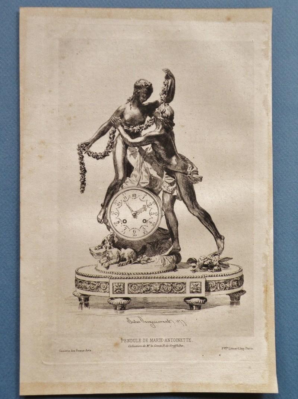 Pendules et horloges de Marie-Antoinette Pendul14