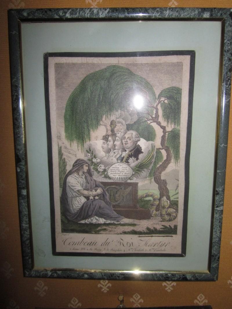 Portraits cachés de Marie-Antoinette et Louis XVI ou images séditieuses  Saule_11