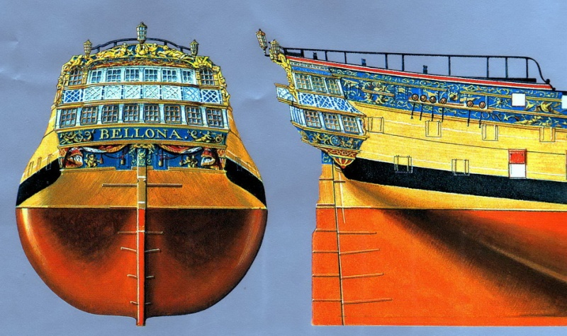 HMS Cumberland 1774, 1:36  - Page 6 Fanali11