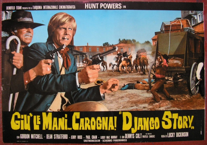 Haut les mains, salaud! Giù le mani... Carogna! (Django Story). 1971. Demofilo Fidani. 20798110