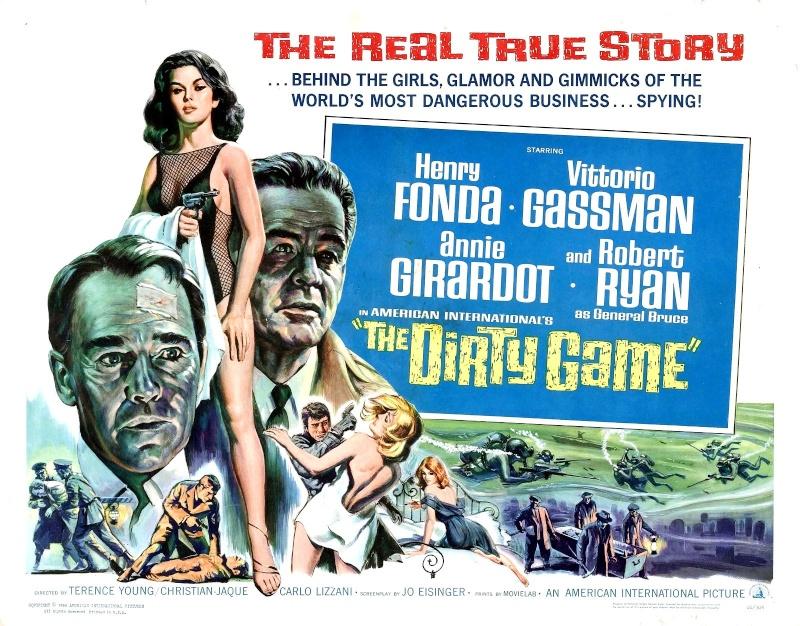Guerre secrète- The Dirty Game- 1965-Christian Jaque/ W Klinger/ C Lizzani / T Young Affich24