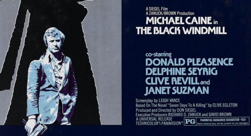 Contre une poignée de diamants- The Black Windmill- 1974- Don Siegel Black-10