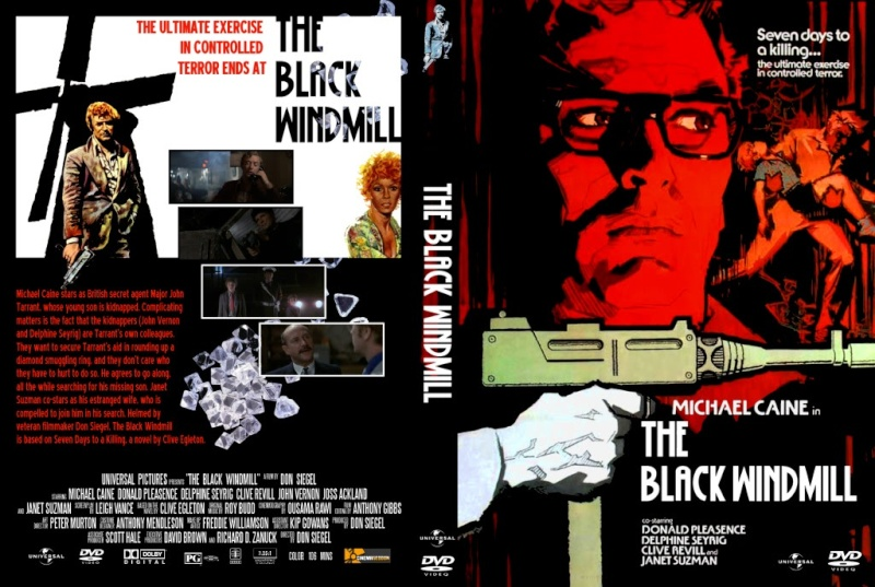 Contre une poignée de diamants- The Black Windmill- 1974- Don Siegel Dvdthe10