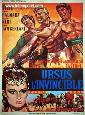 Ursus L'Invincible - Gli Invincibili Tre - Gianfranco Parolini (1963) En121910