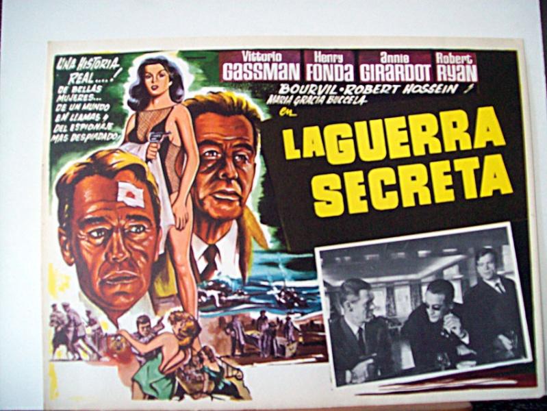 Guerre secrète- The Dirty Game- 1965-Christian Jaque/ W Klinger/ C Lizzani / T Young Guerra10
