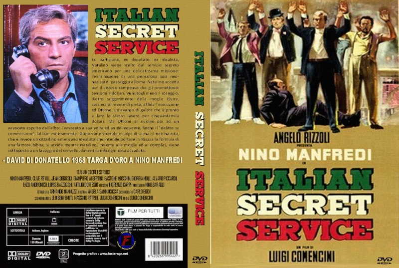 Les Russes ne boiront pas de Cola-Cola  (Italian secret service) -1968 - Luigi Comencini   Italia10