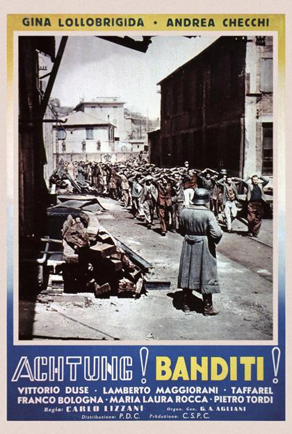 Achtung! Banditi! ( inédit ) - 1951 - Carlo Lizzani Locand10