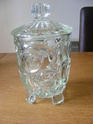 Any ID thoughts please art deco? pressed glass biscuit box Glass_10