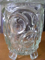 Any ID thoughts please art deco? pressed glass biscuit box Glass_11