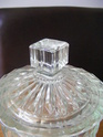 Any ID thoughts please art deco? pressed glass biscuit box Glass_12
