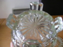 Any ID thoughts please art deco? pressed glass biscuit box Glass_13