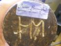 ID Dutch pottery marked HM Potter64