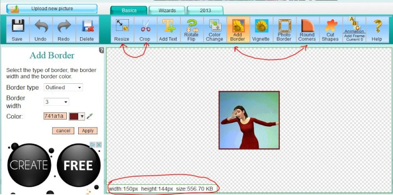 How to make an Animated GIF Avatar 3_210