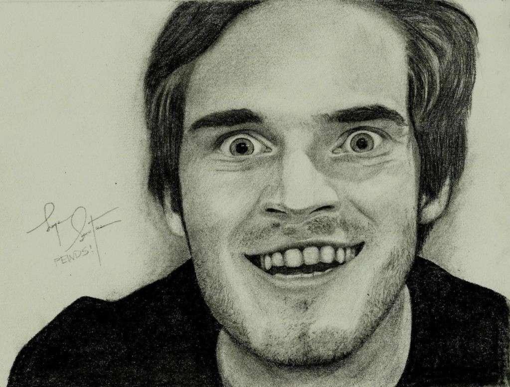 PewDiePie portrait of mine <3 10357710