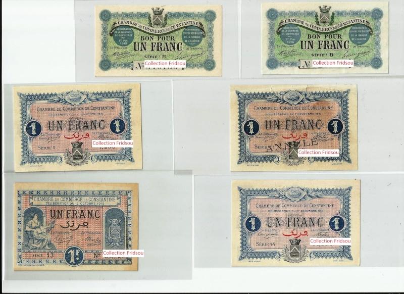 Collection Fridsou Chambre de commerce de Constantine de 1914 à 1923 Algérie Consta11
