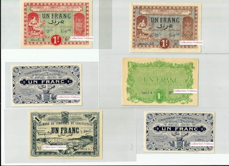 Collection Fridsou Chambre de commerce de Constantine de 1914 à 1923 Algérie Consta13