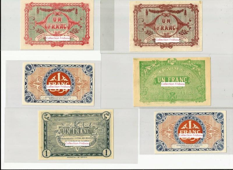 Collection Fridsou Chambre de commerce de Constantine de 1914 à 1923 Algérie Consta14