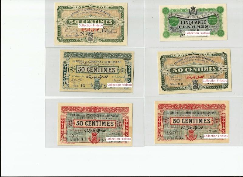 Collection Fridsou Chambre de commerce de Constantine de 1914 à 1923 Algérie Consta15