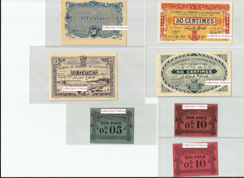Collection Fridsou Chambre de commerce de Constantine de 1914 à 1923 Algérie Consta17