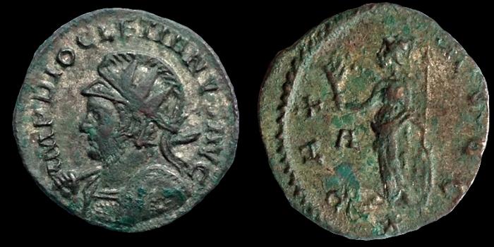 Aureliani de Lyon de Dioclétien et de ses corégents - Page 5 Diocle13