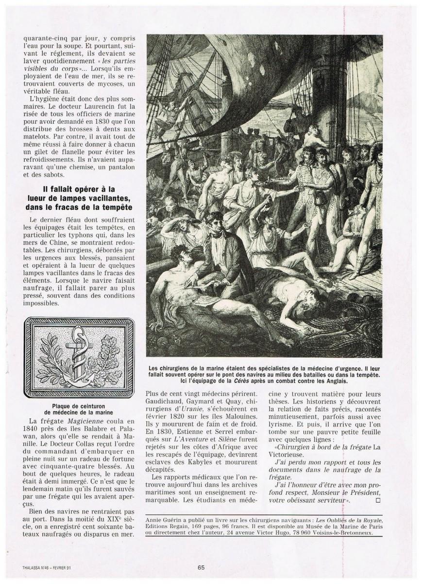 [ Histoires et histoire ] Les Chirurgiens oubliés de la Royale 010_2110