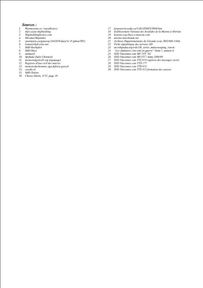 [ Histoires et histoire ] Naufrage du Chalutier Militaire AD 157 Marie-Yette en mars 1940. 1267