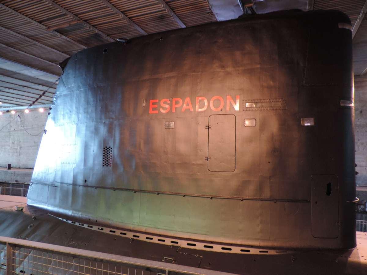[ Les musées en rapport avec la Marine ] Sous-Marin Espadon (Saint-Nazaire). - Page 2 1437