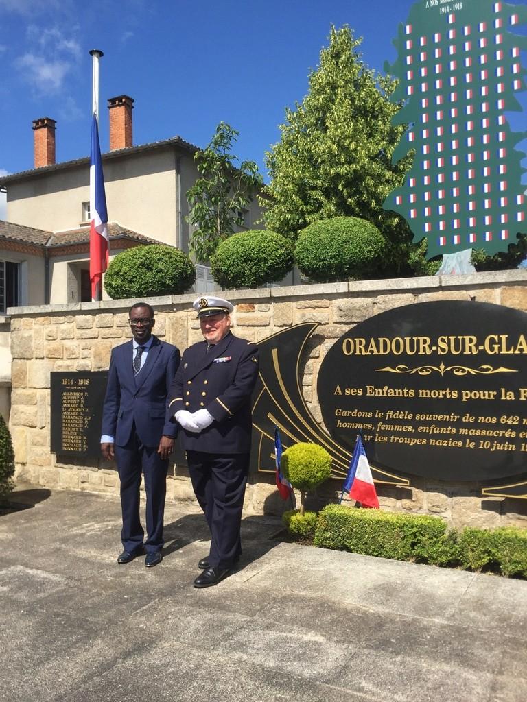 74ème cérémonie de commémoration du massacre d'Oradour-sur-Glane 1510