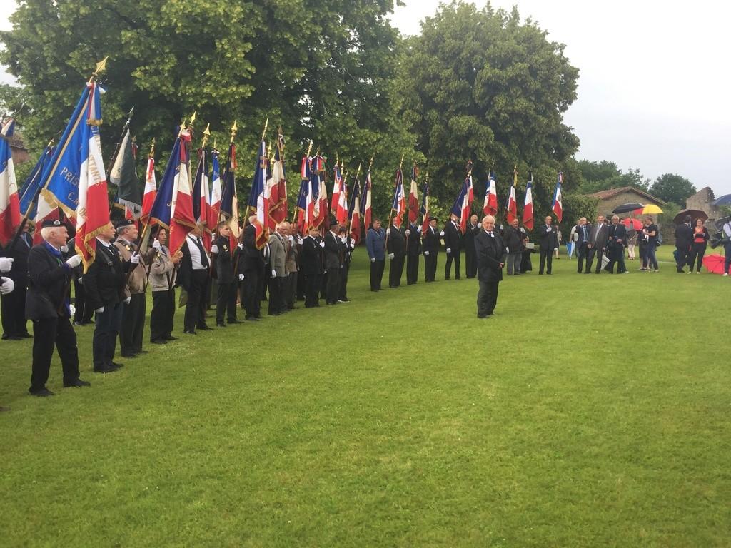 74ème cérémonie de commémoration du massacre d'Oradour-sur-Glane 1710